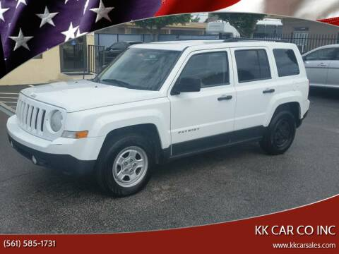 2012 Jeep Patriot for sale at KK Car Co Inc in Lake Worth FL