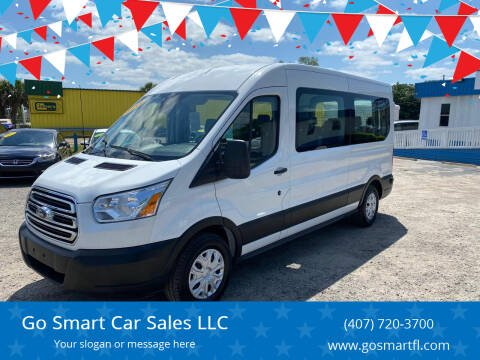 2019 Ford Transit Passenger for sale at Go Smart Car Sales LLC in Winter Garden FL