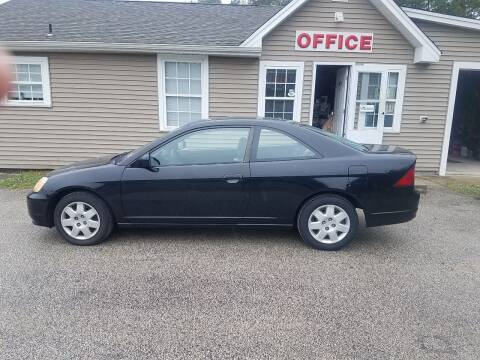 2001 Honda Civic for sale at MIKE B CARS LTD in Hammonton NJ