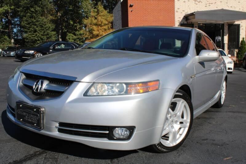 2008 Acura TL for sale at Atlanta Unique Auto Sales in Norcross GA