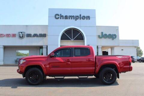 2019 Toyota Tacoma for sale at Champion Chevrolet in Athens AL