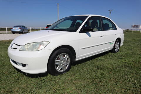 2004 Honda Civic for sale at Liberty Truck Sales in Mounds OK