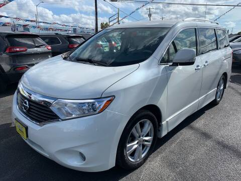 2012 Nissan Quest for sale at Rock Motors LLC in Victoria TX
