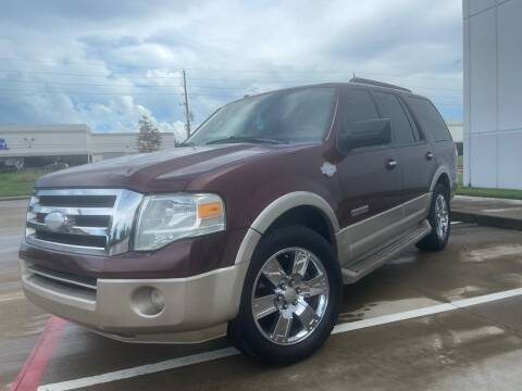 2008 Ford Expedition for sale at TWIN CITY MOTORS in Houston TX