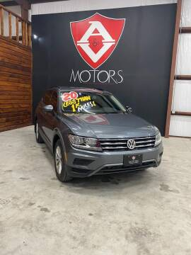 2020 Volkswagen Tiguan for sale at A & V MOTORS in Hidalgo TX