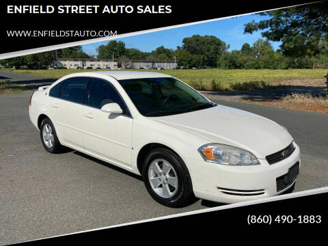 2007 Chevrolet Impala for sale at ENFIELD STREET AUTO SALES in Enfield CT