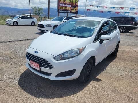 2016 Ford Fiesta for sale at Bickham Used Cars in Alamogordo NM