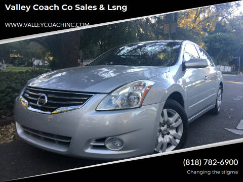 2012 Nissan Altima for sale at Valley Coach Co Sales & Lsng in Van Nuys CA