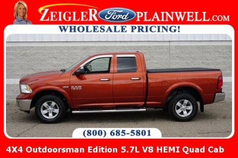 2013 RAM Ram Pickup 1500 for sale at Zeigler Ford of Plainwell- Jeff Bishop in Plainwell MI