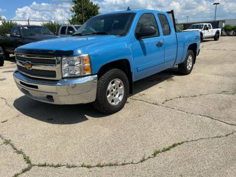 2013 Chevrolet Silverado 1500 for sale at ANYTHING IN MOTION INC in Bolingbrook IL