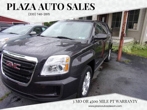 2016 GMC Terrain for sale at Plaza Auto Sales in Poland OH