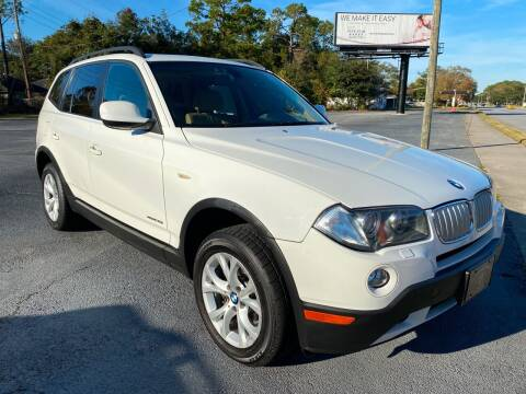 2010 BMW X3 for sale at GOLD COAST IMPORT OUTLET in St Simons GA
