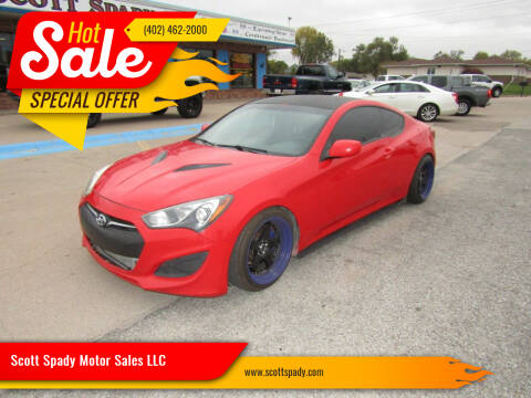 2013 Hyundai Genesis Coupe for sale at Scott Spady Motor Sales LLC in Hastings NE