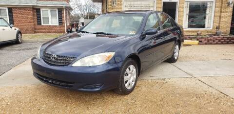 2004 Toyota Camry for sale at A.C. Greenwich Auto Brokers LLC. in Gibbstown NJ