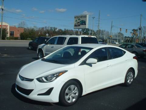 2016 Hyundai Elantra for sale at Northgate Auto Sales in Myrtle Beach SC