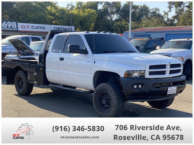 2002 Dodge Ram Pickup 2500 for sale at OT CARS AUTO SALES in Roseville CA