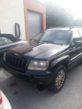 2004 Jeep Grand Cherokee for sale at LAND & SEA BROKERS INC in Deerfield FL