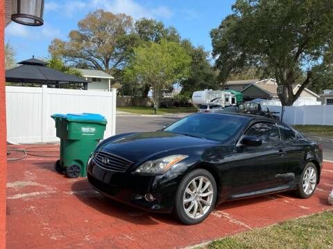 2011 Infiniti G37 Coupe for sale at ONYX AUTOMOTIVE, LLC in Largo FL