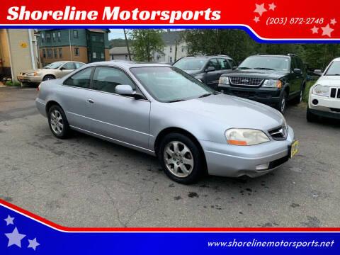 2001 Acura CL for sale at Shoreline Motorsports in Waterbury CT
