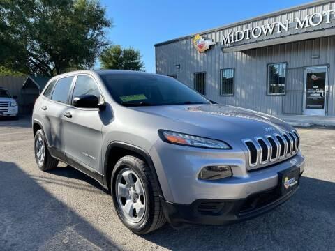 2014 Jeep Cherokee for sale at Midtown Motor Company in San Antonio TX