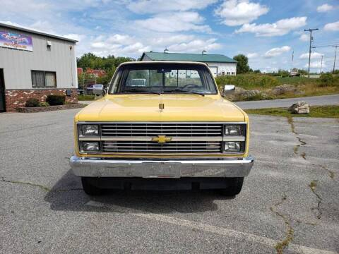 1984 Chevrolet C/K 10 Series for sale at GRS Auto Sales and GRS Recovery in Hampstead NH