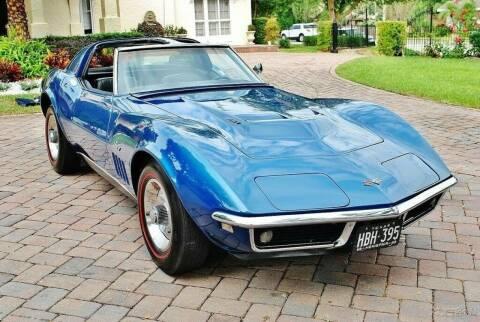 1968 Chevrolet Corvette for sale at NJ Enterprises in Indianapolis IN