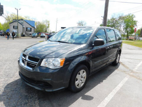 2012 Dodge Grand Caravan for sale at WOOD MOTOR COMPANY in Madison TN