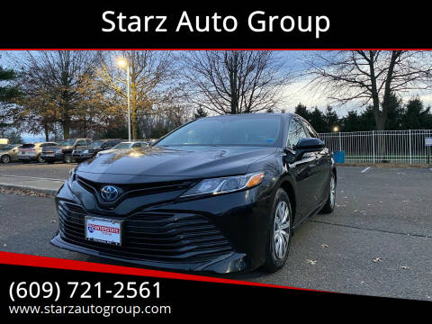 2018 Toyota Camry Hybrid for sale at Starz Auto Group in Delran NJ