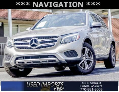 2019 Mercedes-Benz GLC for sale at Used Imports Auto in Roswell GA