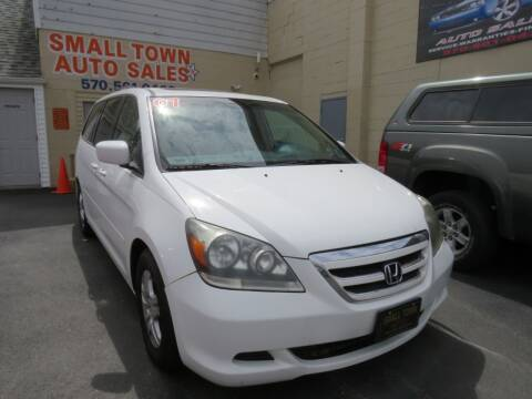 2007 Honda Odyssey for sale at Small Town Auto Sales in Hazleton PA