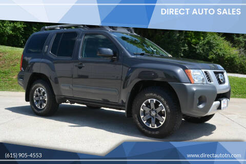 2015 Nissan Xterra for sale at Direct Auto Sales in Franklin TN