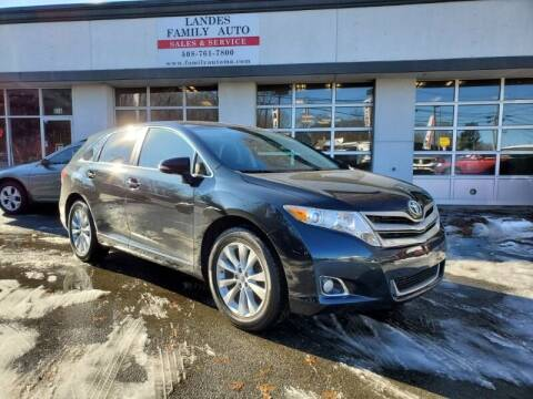 2013 Toyota Venza for sale at Landes Family Auto Sales in Attleboro MA