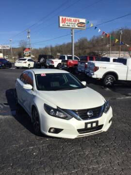 2016 Nissan Altima for sale at MARLAR AUTO MART SOUTH in Oneida TN