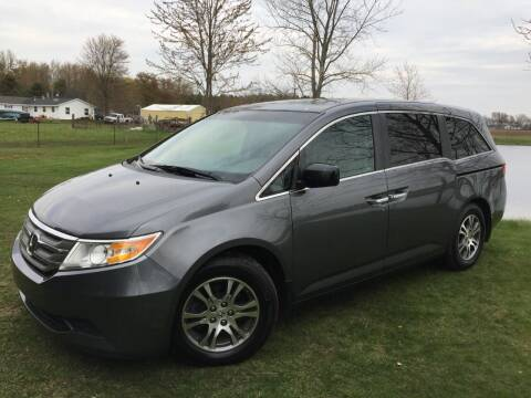 2012 Honda Odyssey for sale at K2 Autos in Holland MI