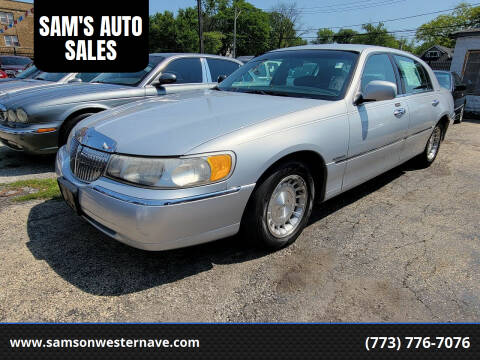 1999 Lincoln Town Car for sale at SAM'S AUTO SALES in Chicago IL