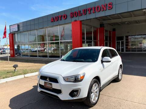2015 Mitsubishi Outlander Sport for sale at Auto Solutions in Warr Acres OK