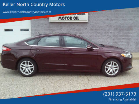 2013 Ford Fusion for sale at Keller North Country Motors in Howard City MI