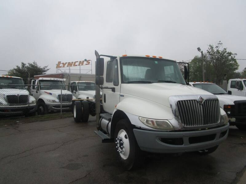 2009 International 4400 for sale at Lynch's Auto - Cycle - Truck Center in Brockton MA