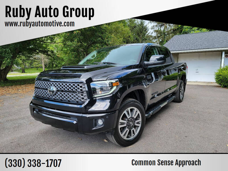 2020 Toyota Tundra for sale at Ruby Auto Group in Hudson OH