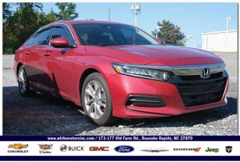 2018 Honda Accord for sale at WHITE MOTORS INC in Roanoke Rapids NC