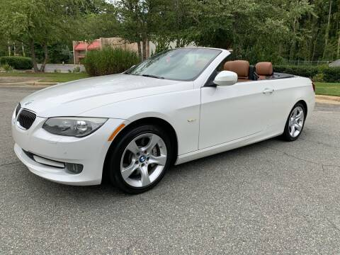 2012 BMW 3 Series for sale at Triangle Motors Inc in Raleigh NC