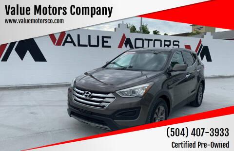 2013 Hyundai Santa Fe Sport for sale at Value Motors Company in Marrero LA