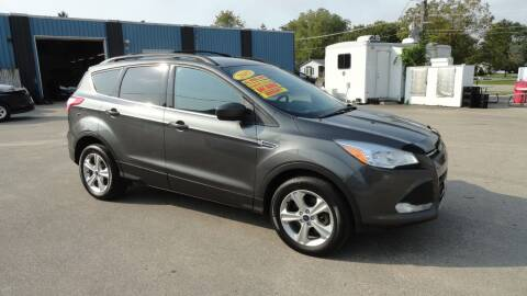 2015 Ford Escape for sale at CENTER AVENUE AUTO SALES in Brodhead WI