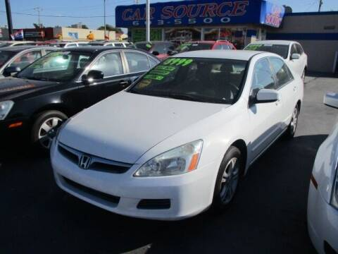 2007 Honda Accord for sale at CAR SOURCE OKC in Oklahoma City OK