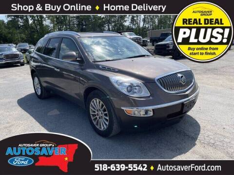 2012 Buick Enclave for sale at Autosaver Ford in Comstock NY