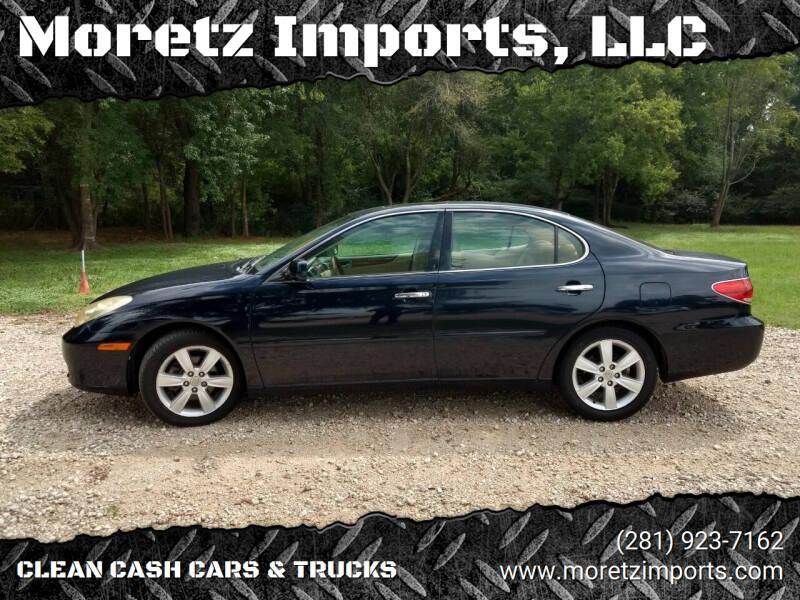 2006 Lexus ES 330 for sale at Moretz Imports, LLC in Spring TX