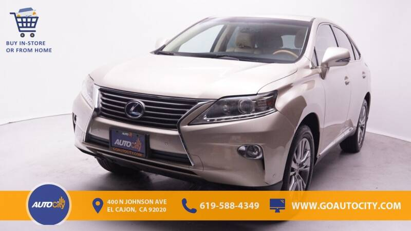 2014 Lexus RX 450h for sale in El Cajon, CA