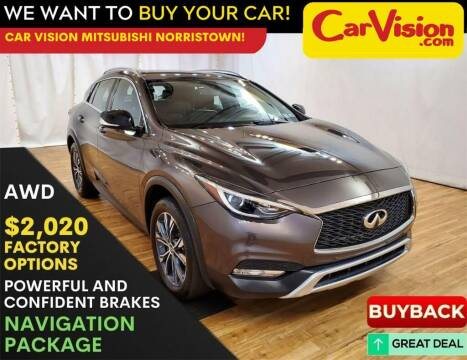 2018 Infiniti QX30 for sale at Car Vision Mitsubishi Norristown in Trooper PA