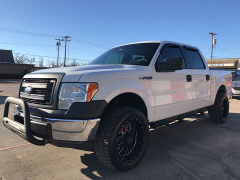 2013 Ford F-150 for sale at NORRIS AUTO SALES in Oklahoma City OK