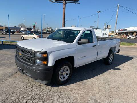 2015 Chevrolet Silverado 1500 for sale at Superior Used Cars LLC in Claremore OK